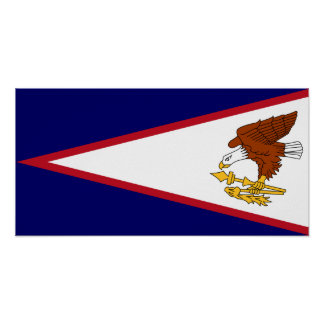 American Samoa Flag Poster