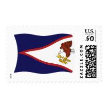 American Samoa Flag Stamps