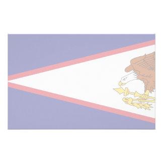 American Samoa Flag Custom Stationery