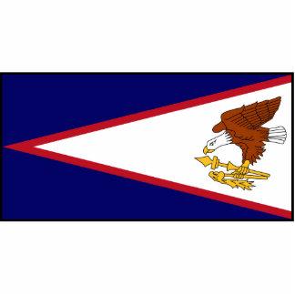 American Samoa Flag Statuette