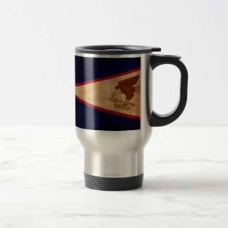 American Samoa Flag Travel Mug