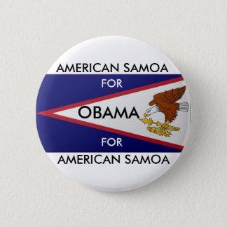AMERICAN SAMOA FOR OBAMA Button