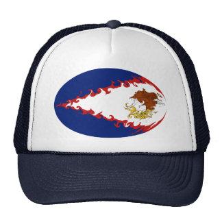 American Samoa Gnarly Flag Hat