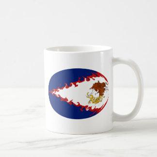 American Samoa Gnarly Flag Mug
