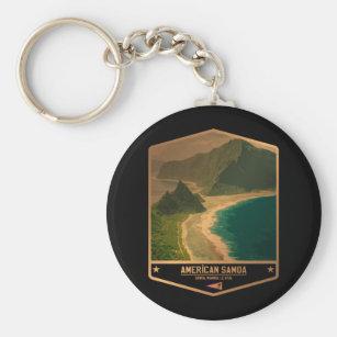 American Samoa Keychain