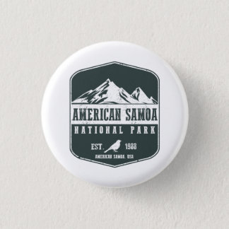 American Samoa National Park Button