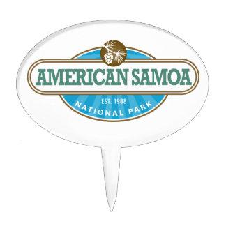 American Samoa National Park Cake Picks