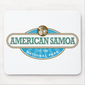 American Samoa National Park Mouse Pad