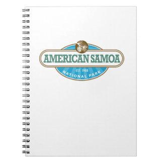 American Samoa National Park Note Book