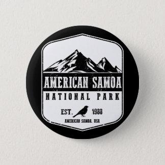 American Samoa National Park Pinback Button