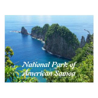 American Samoa National Park Postcard Postcards