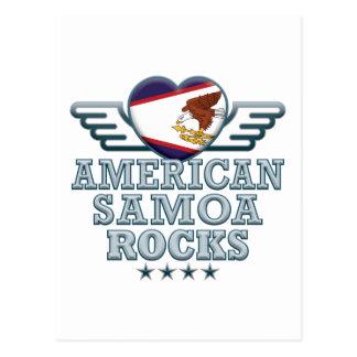 American Samoa oscila v2 Tarjetas Postales