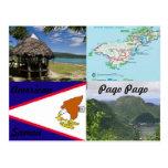 American, Samoa, Pago Pago postcard
