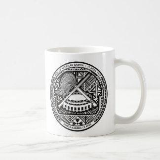 american samoa seal coffee mug