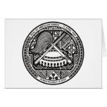 American Samoa Seal Greeting Card