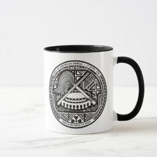 american samoa seal mug