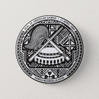 american samoa seal pinback button