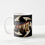 American Samoa Tribal Black Classic White Coffee Mug