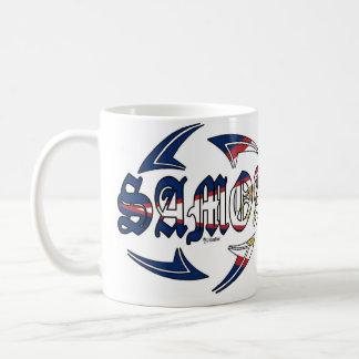 American Samoa Tribal Classic White Coffee Mug