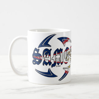 American Samoa Tribal Coffee Mug