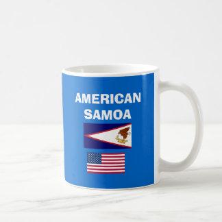 AMERICAN SAMOA* with Bold AS Mug Mugs