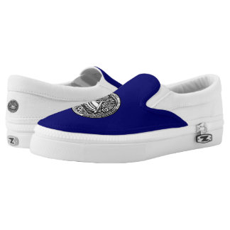 American Samoan coat of arms Slip-On Sneakers