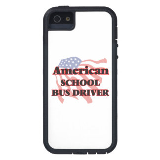American School Bus Driver Cover For iPhone 5