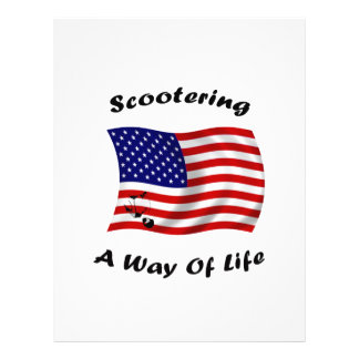 american scootering way of life white flyer