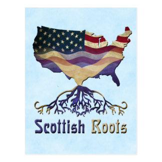 American Scottish Roots Ancestry Postcards
