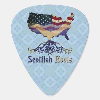 American Scottish Roots Guitar Pick