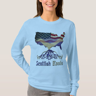 American Scottish Roots Tee Shirt