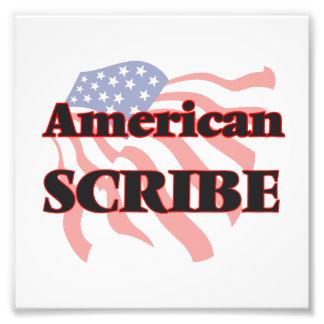 American Scribe Photo Print