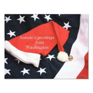 American season's greetings Washington Invites