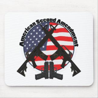 American Second Amendment Mouse Pad