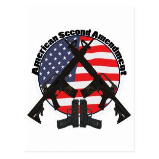 American Second Amendment Postcard