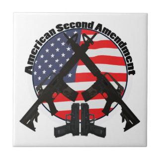 American Second Amendment Tile