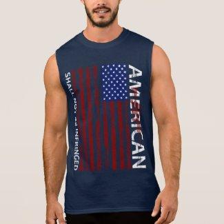 American - Shall not be infringed Sleeveless Shirt