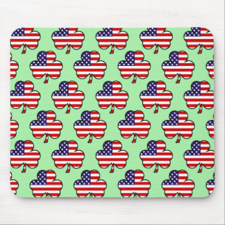 American Shamrocks Mousepad