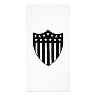 American Shield Customized Photo Card