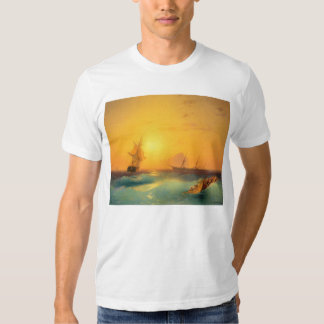 American Shipping Off the Rock of Gibraltar 1873 Tee Shirt