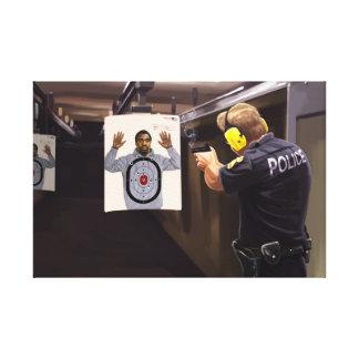 American Shootings Canvas Print