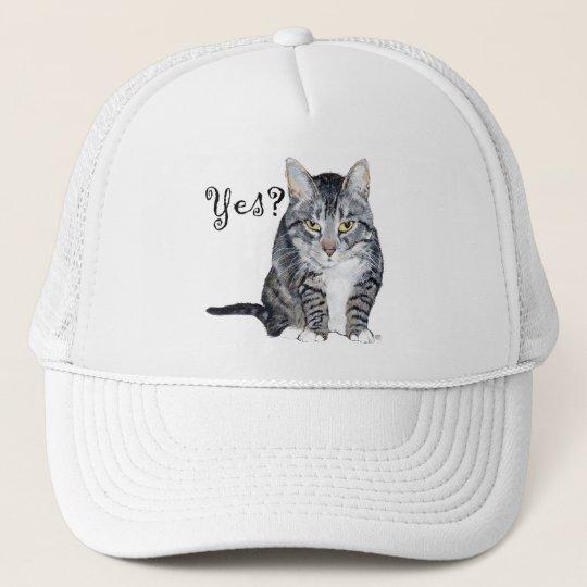 American Shorthair Cat - Yes? Trucker Hat
