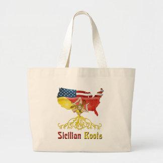 American Sicilian Roots Bag