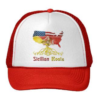 American Sicilian Roots Trucker Hat