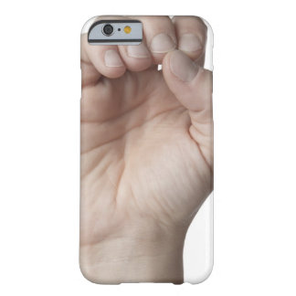 American Sign Language 11 Barely There iPhone 6 Case
