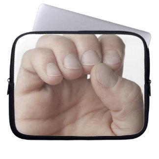 American Sign Language 11 Laptop Sleeve