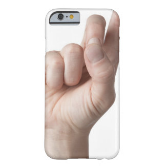 American Sign Language 12 Barely There iPhone 6 Case