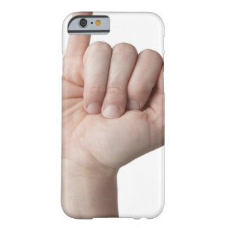 American Sign Language 13 Barely There iPhone 6 Case