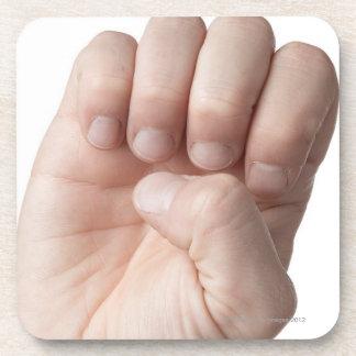 American Sign Language 14 Coasters