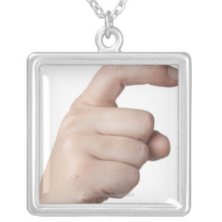 American Sign Language 15 Personalized Necklace